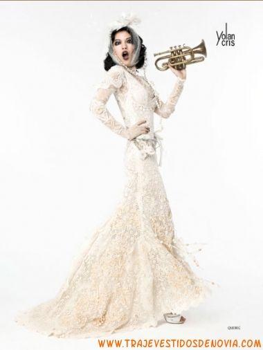 YolanCris 2012 Lumière' Bridal Collection