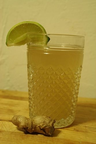 Ginger Limeade. | summer treats | Pinterest