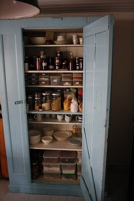 Free standing pantry for the home pinterest - Kitchen freestanding pantry ...