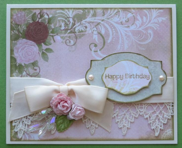Vintage birthday card greeting card ideas pinterest for Christmas card ideas on pinterest