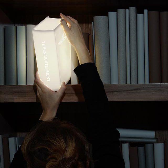 The Enlightenment Book Lamp ( link :: http://www.lightupyourworld.nl/ )