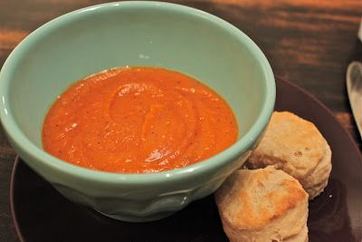 Roasted Red Pepper & Sweet Potato Soup-Looks Heavenly! The Cloakroom ...