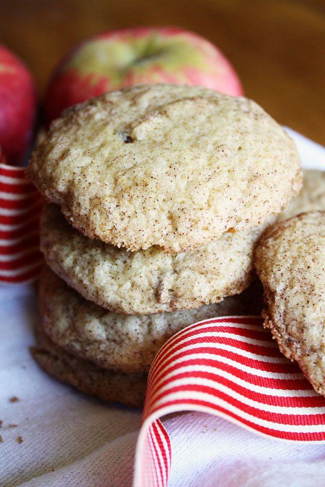 Apple Cinnamon Cookies ~ Lulu the Baker | APPLE RECIPES 2 | Pinterest