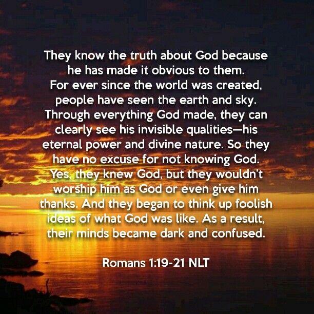 romans 1 21 32 nlt bible