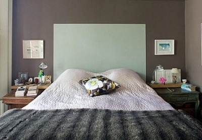 painted headboard bedroom pinterest