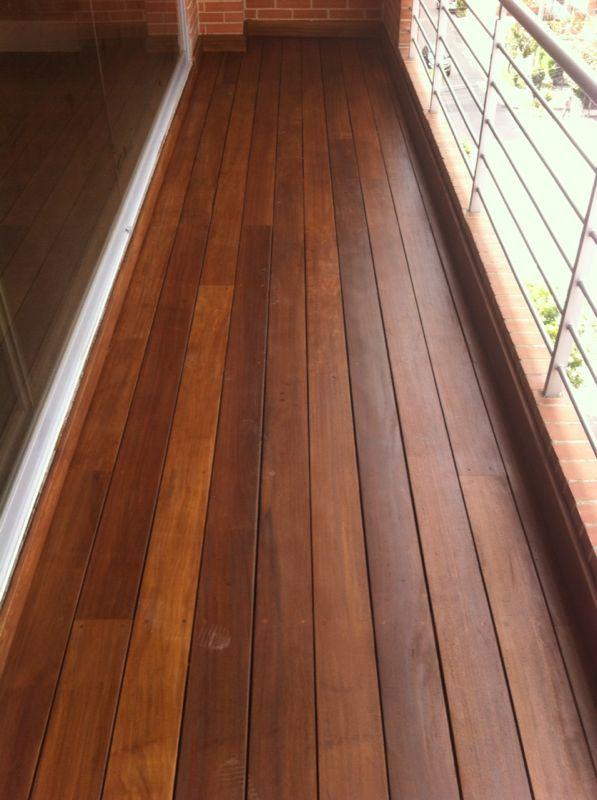 Wooden deck made of exotic hardwood wood boards pinterest for Hardwood decking boards