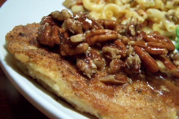 Honey Pecan Glazed Pork Chops | Recipe