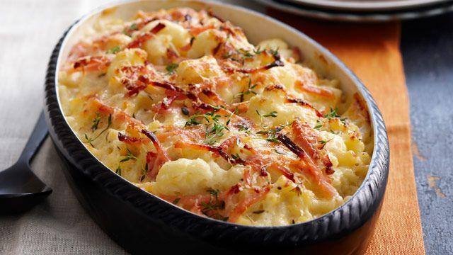 Macaroni and cauliflower cheese bake   Recipes   Pinterest