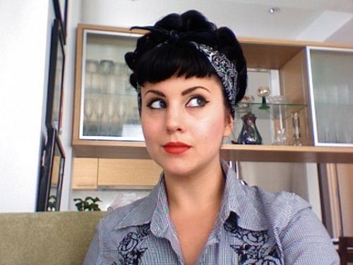 rockabilly hairstyles for short hair : Rockabilly Hairdos Nice for short hair ?? Rockabilly ...