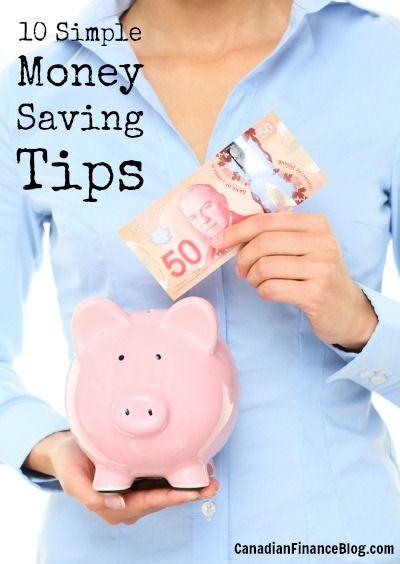 10 Simple Money Saving...