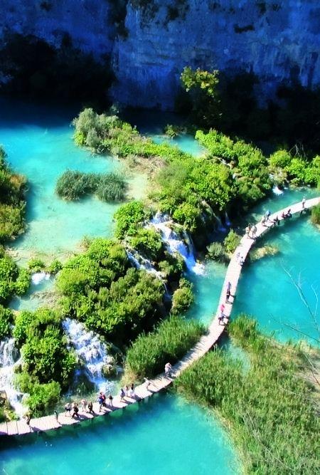 Plitvicka Jezera Picturesque 2 Pinterest
