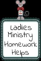 Ladies Ministry Helps