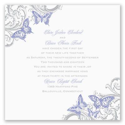 love takes flight wedding invitation david tutera at invitations by