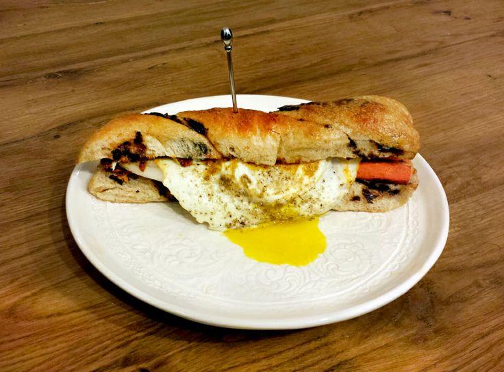 Sun Dried Tomatoes, Carrot & Egg Sandwich | Coffee + Champagne | # ...