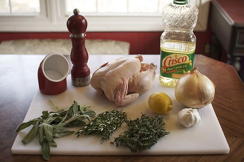 Herb Roasted Whole Chicken | Sayings | Pinterest