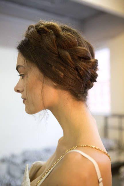 Romantic Heidi-style braids (ideal for long hair)