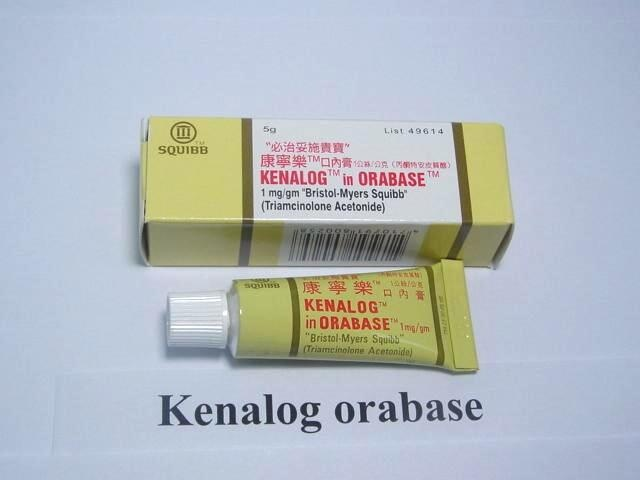 can you use triamcinolone acetonide cream for cold sores