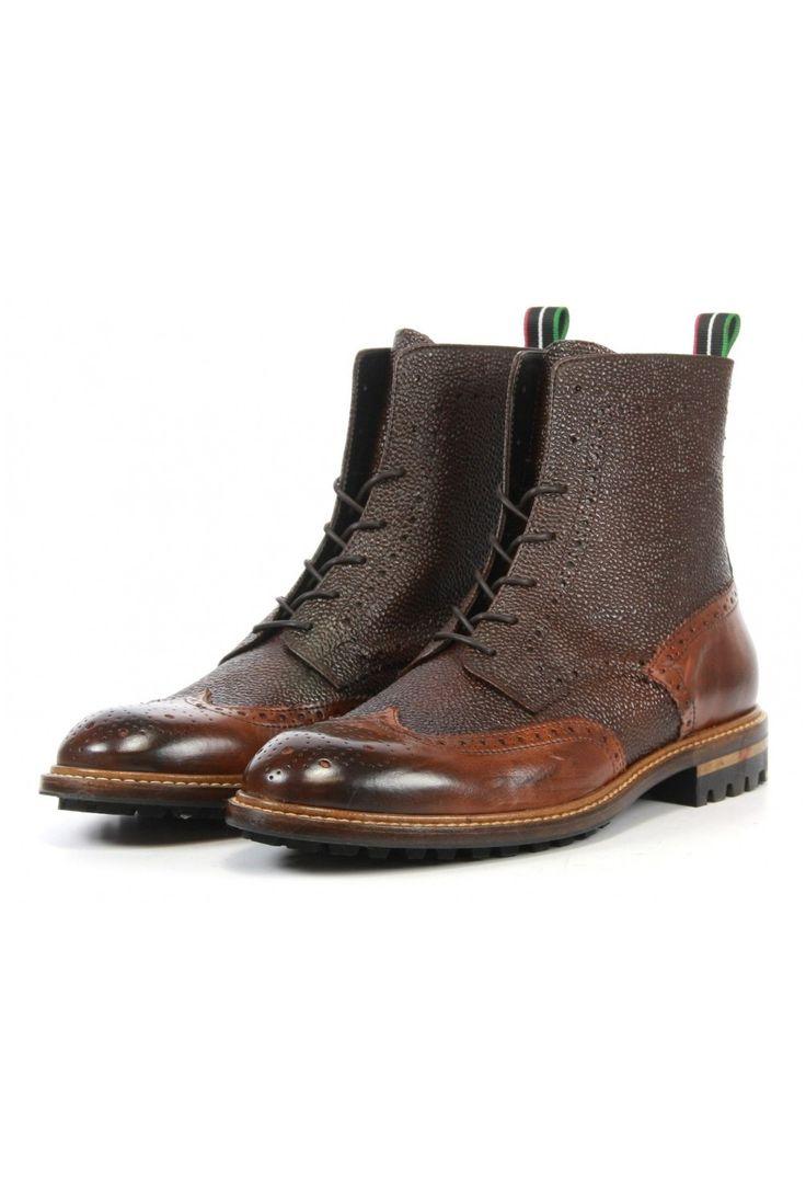 Giorgio Booties 48305 brown - Vimodos