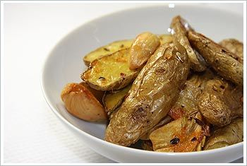 Fingerlings Crisp | Side Dishes | Pinterest