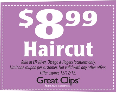 Great clips deals may 2018