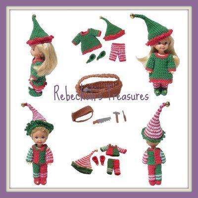 Crochet Elves Kelly & Tommy Pattern