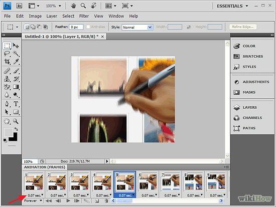 photoshop cs5 how to make giudes