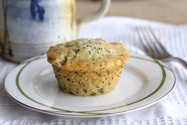 Glazed Lemon Poppy Seed Muffins | Recipe