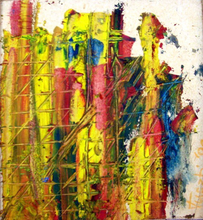 Abstract paintings of love creative inspiration pinterest for Creative abstract painting