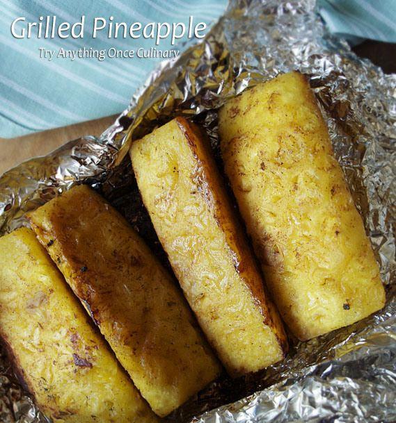 Grilled Pineapple | desserts | Pinterest
