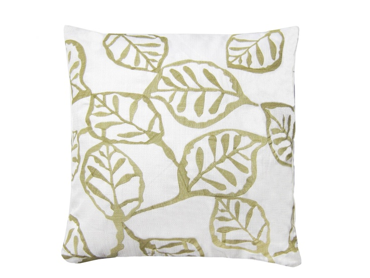 Leaf pillow from Rodeo Home