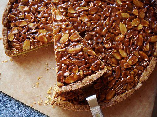 Tangerine & Almond Shortbread Tart | Diner En Blanc | Pinterest