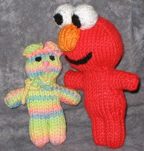 Elmo Knitting Pattern : Pin by Toffee Marshmallows on Make & Do Pinterest