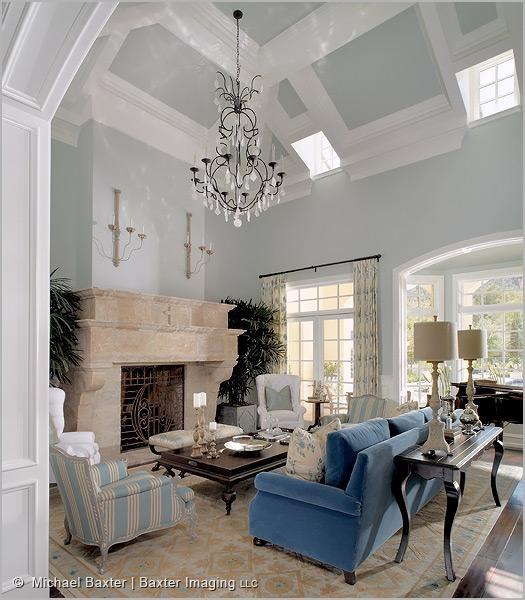 High Ceiling Living Family Rooms Pinterest