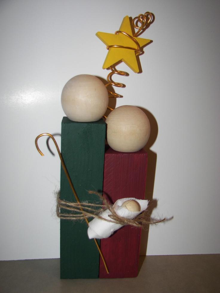 Joseph mary and baby jesus for the nativity exhibit next year