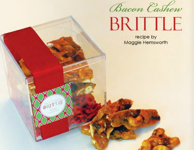 bacon cashew brittle | recipes - candy | Pinterest