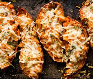Twice baked potatoes | FOOD I LOVE | Pinterest
