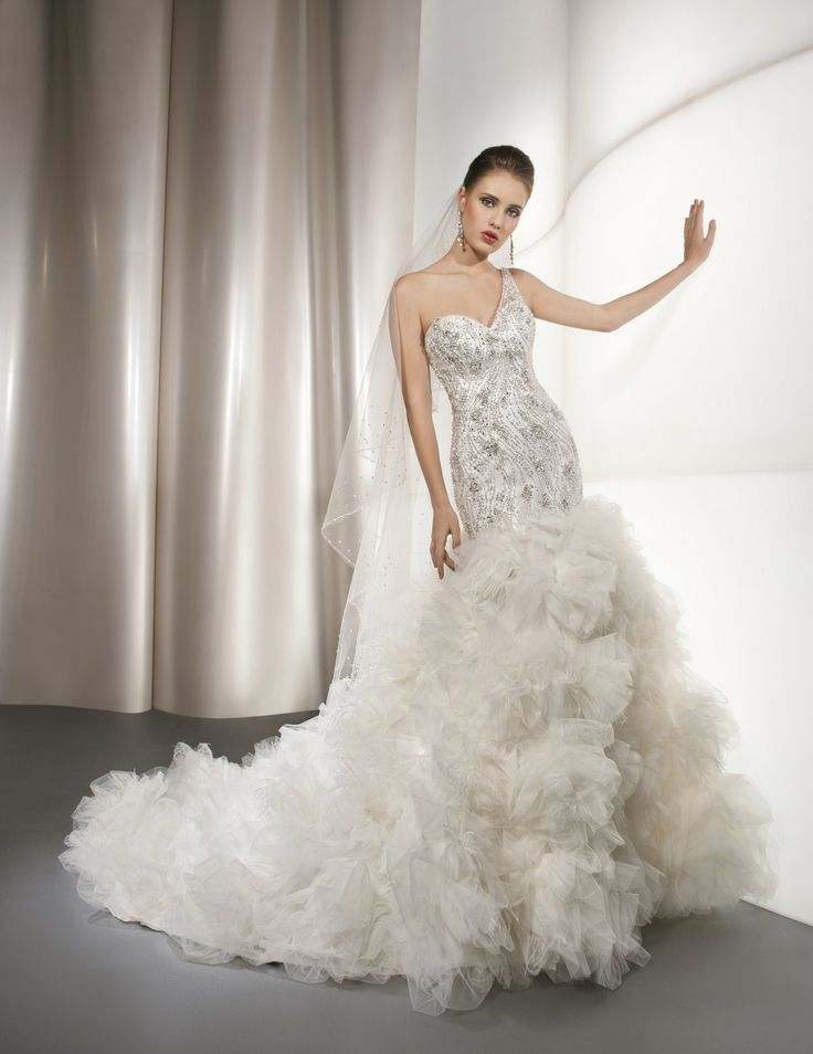 Over The Top Dresses Over the top wedding d...