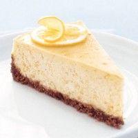 Lemon Cheesecake with Gingersnap Crust - Bon Appétit