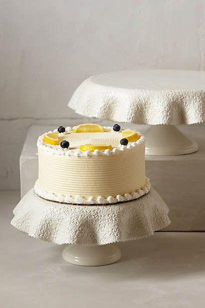 Fallen Pleats Cake Stand