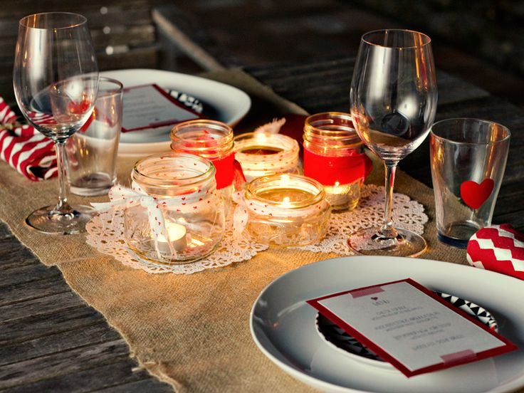 Valentine's Day Dinner : Free Printable Valentine's Day Menus