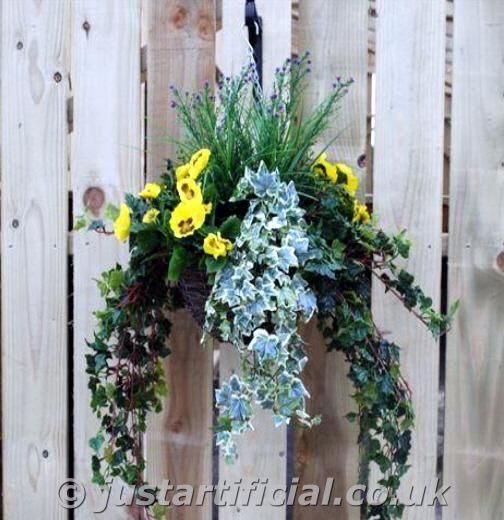 Hanging Flower Baskets For Winter : Pin by jerolyn starling on flowers