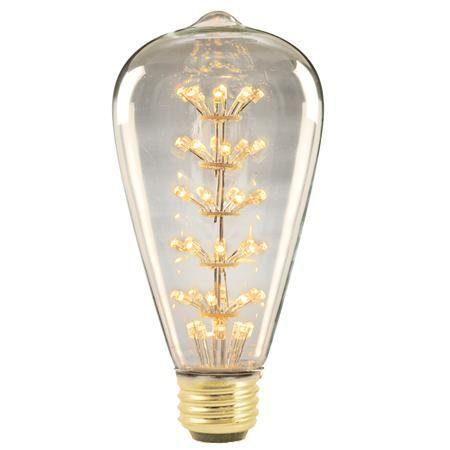 led 1 watt vintage edison medium base bulb looks like an edison bulb. Black Bedroom Furniture Sets. Home Design Ideas
