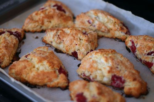 Perfect for Saturday Mornings: Raspberry White Chocolate Scones Recipe