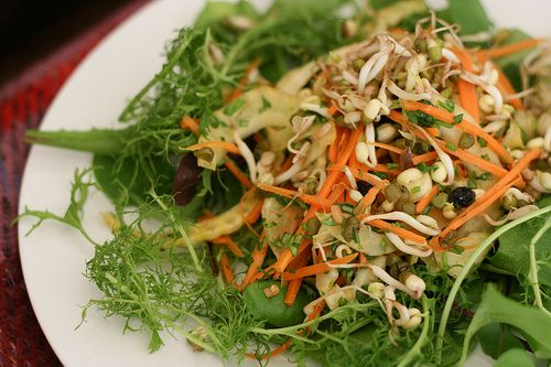 sprout salad | Healthy and Delicious | Pinterest