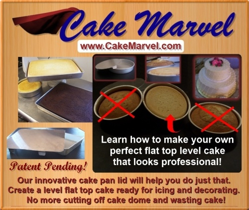 Baking Is So Easy With The Cake Marvel Lid