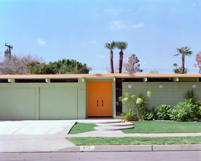Eichler Front With Clerestory Windows Mid Century Modern