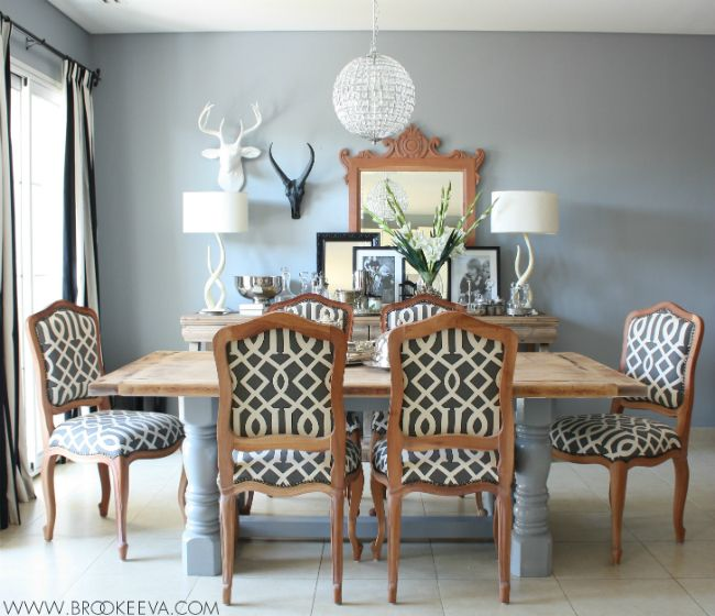 Homemade Dining Room Table Entrancing Decorating Inspiration