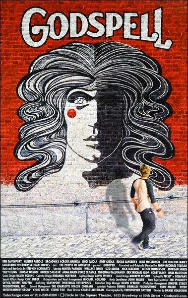 Godspell Broadway Poster (2011 Revival)
