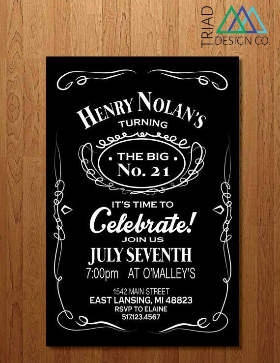 95 21st Birthday Invitations Funny