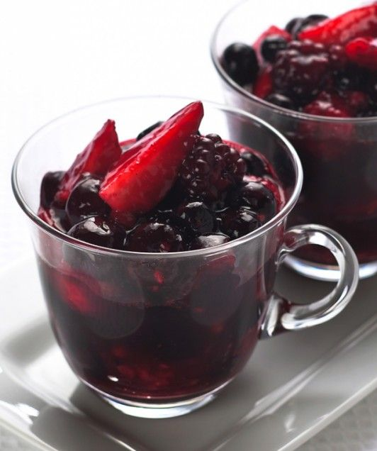 Red Fruit Medley- Give your summer berries a German twist with this ...
